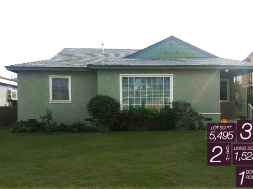 SOLD! 10468 HOPLAND ST, BELLFLOWER CA 90706 | 3 BED | 2 BATH | BONUS ROOM | 1,523 LIVING SQ FT