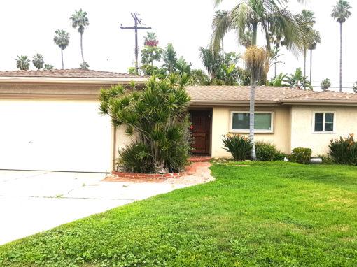 SOLD! 7631 Alberta Dr., Huntington Beach CA 92648 | 3 BED | 2 BATH | 2 CAR GARAGE | 6,400 SQ FT LOT