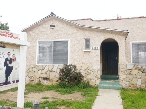 SOLD! 2 BED + 1 BATH + 4K LOT SIZE | 1306 HANOVER AVE, LOS ANGELES CA