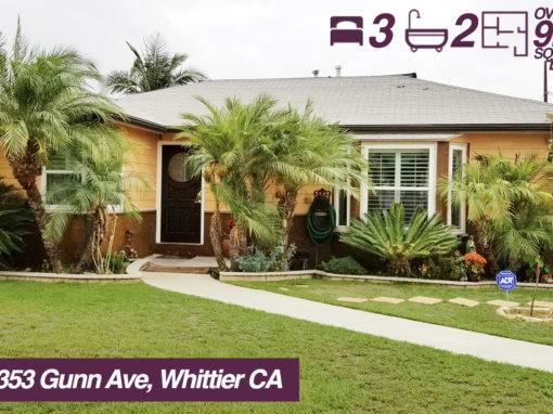10353 Gunn Ave, Whittier California | 3 BED | 2 BATH | +9K SQ FT LOT