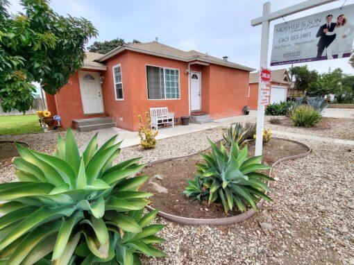 3301 Palm Ave., Lynwood, CA 90262  | 3 BED | 1 BATH | 2 CAR GARAGE